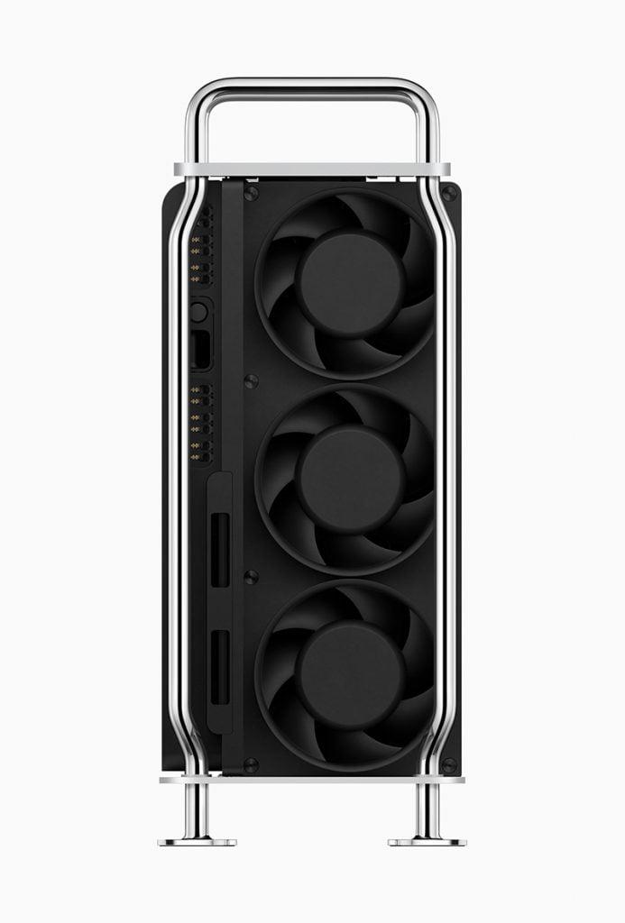 Mac pro back cooler fan