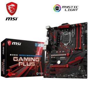 MSI B360 Gaming plus, msi motherobard, motherboard nepal, msi nepal , b360 motherboard nepal , b350 gaming plus nepal