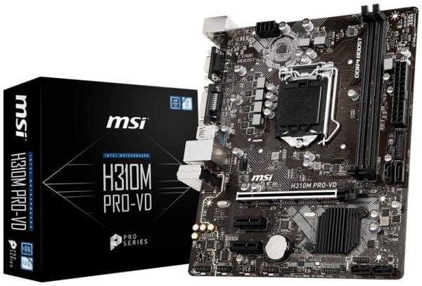 MSI H310M PRO VD