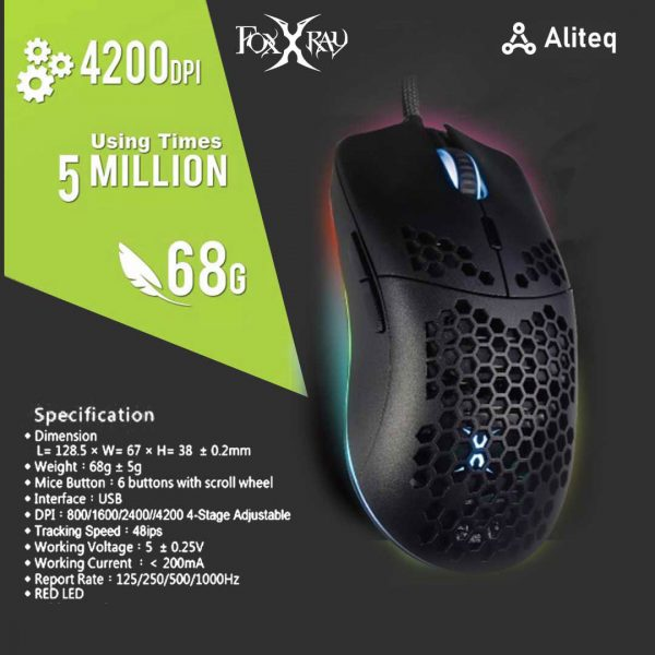 foxxray, gaming mouse, foxxray mouse, glorious mouse nepal, glorious mouse