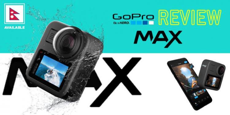 GoPro max, gopro nepal, gopro max in nepal, gopro price in nepal