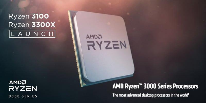 ryzen 3 3100, 3300x , amd new processor, ryzen 3300x nepal, ryzen 3100 nepal, ryzen nepal