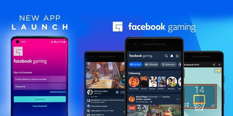 facebook gaming app, facebook new app, gacebook gaming , facebook vs youtube, facebook vs twitch, facebook new launch, aliteq, nepal