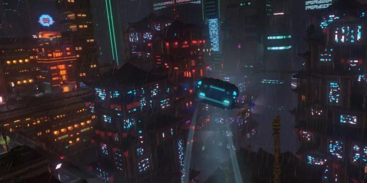 cloudpunk, cloudpunk review, pcgamer
