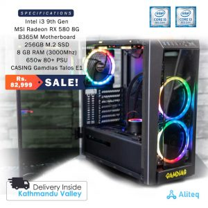 i3 gaming pc, i3 gaming pc nepal, i3 custom pc, gaming pc price in nepal, intel gaming pc price in nepal