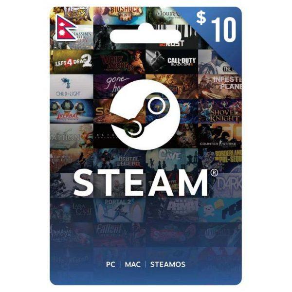 steam gift cards, steam gift cards nepal, steam cards, gift cards nepal, $10 steam gift card price in nepal