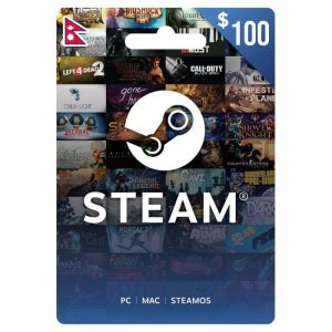 steam gift cards, steam gift cards nepal, steam cards, gift cards nepal, $100 steam gift card price in nepal
