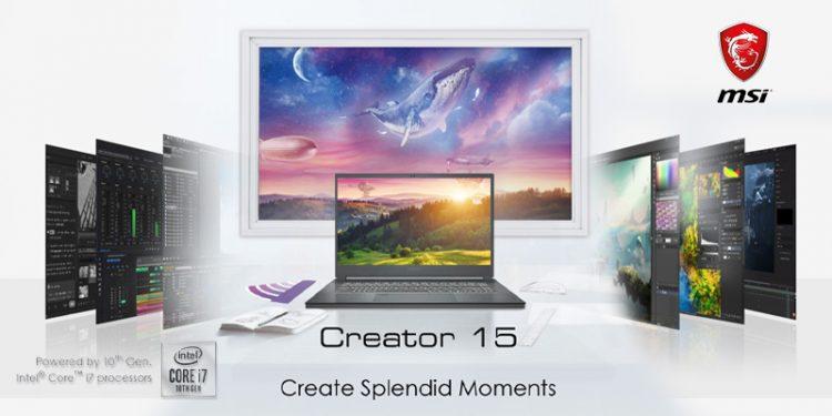 msi creator 15, msi creator 15 price in nepal, msi creator 15 in nepal, msi nepal, msi laptops price in nepal, msi new 2020 laptops nepal