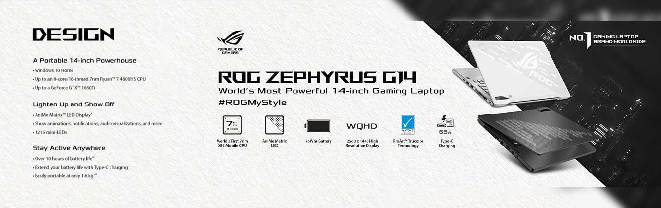 ROG Zephyrus g14 laptop price in nepal