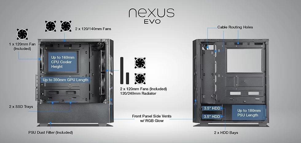 techware nepal, nexus evo nepal, techware casing nepal