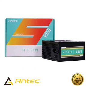 antec 550w, Antec Atom V550 550Watts Non-Modular Gaming Power Supply, v550 price in nepal, antec price in nepal, antec power supply price in nepal, antec nepal, antech casing price in nepal