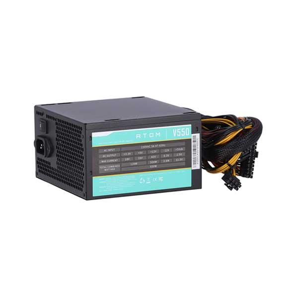 antec 550w, Antec Atom V550 550Watts Non-Modular Gaming Power Supply, v550 price in nepal, antec price in nepal, antec power supply price in nepal, antec nepal, antech casing price in nepal