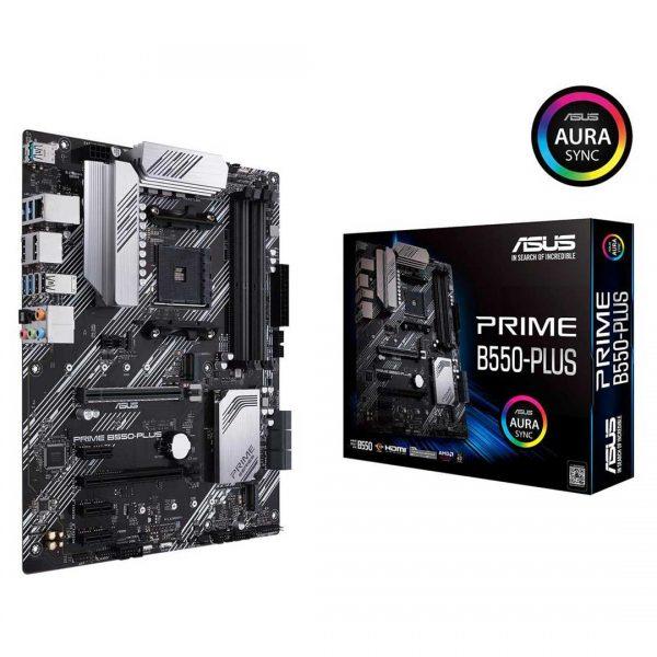 ASUS PRIME B550-PLUS AM4 AMD B550 SATA 6Gb/s ATX AMD Motherboard, asus prime b550, b550 price in nepal, b550 asus nepal