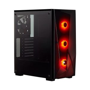 corsair, corsair nepal, corsair case price in nepal, corsair price in nepal, corsair spec 1, CORSAIR Carbide Series SPEC-DELTA RGB Tempered Glass Mid-Tower ATX Gaming Case — Black, CORSAIR Carbide Series SPEC-DELTA
