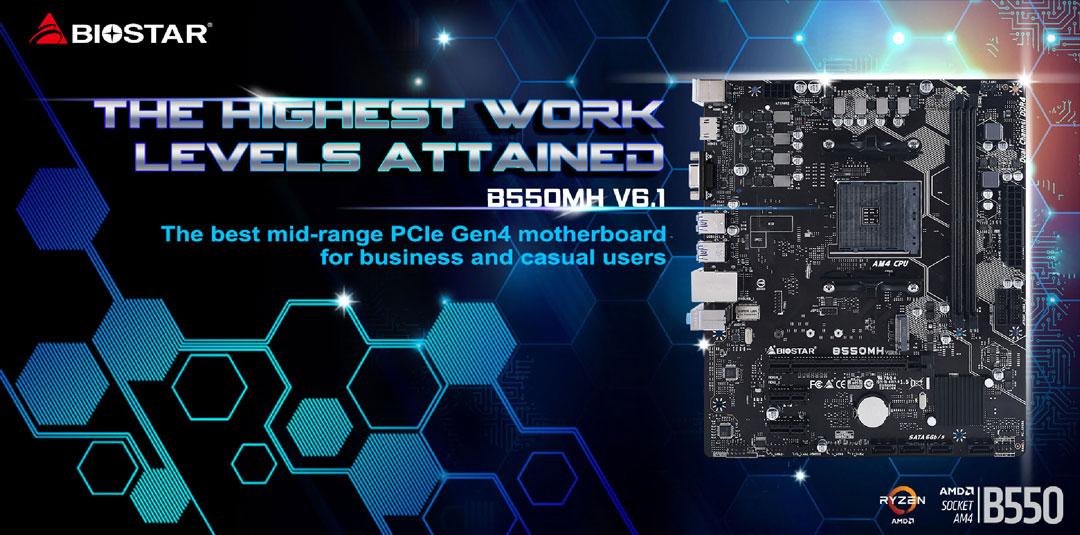 biostar, biostar nepal, biostar b550mh, motherboard price in nepal
