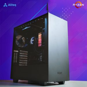 custom gaming pc build nepal, gaming pc aliteq, aliteq nepal, gaming computer, amd gaming pc