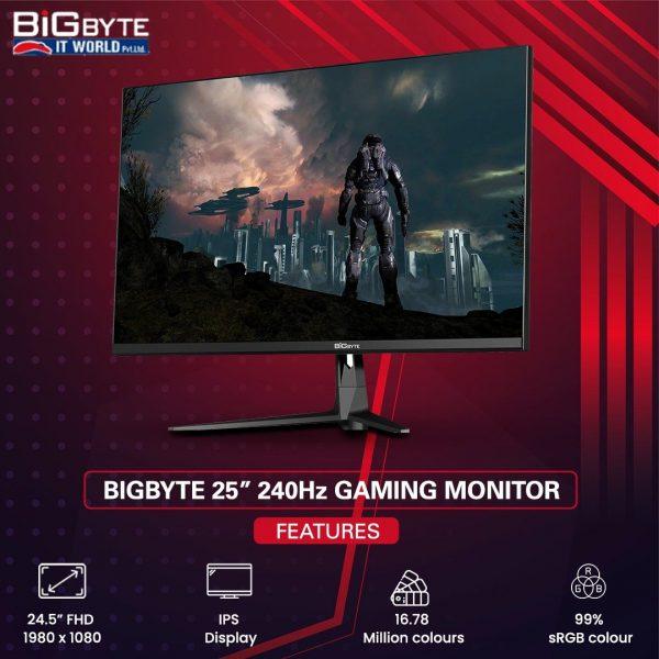 240hz gaming monitor nepal, 240hz price in nepal, gaming monitor with 240hz price in nepal, gaming monitor, bigbyte monitor, best gaming monitor price in nepal, monitor price in nepal