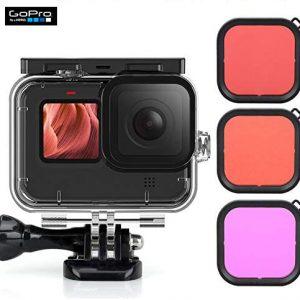 Gopro hero 9 black, gopro nepal, gopro price in nepal, gopro accessories nepal, Gopro Hero 9 Black Underwater Diving Lens Filter Set 3pcs Set Waterproof Diving Housing Case | g091