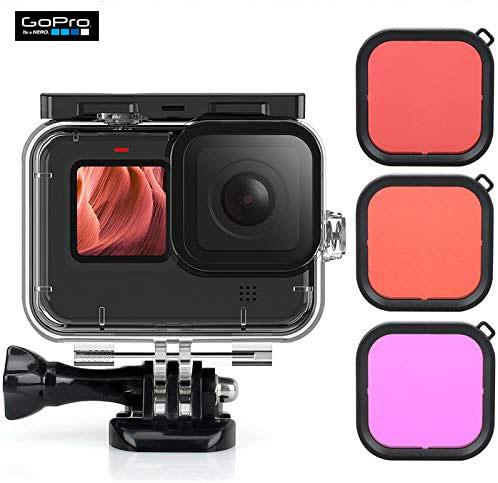 Gopro hero 9 black, gopro nepal, gopro price in nepal, gopro accessories nepal, Gopro Hero 9 Black Underwater Diving Lens Filter Set 3pcs Set Waterproof Diving Housing Case   g091